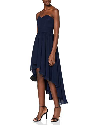 Swing Damen Kleid Sina, Gr. 36, Blau (schwarzblau 300)