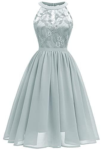 Laorchid Damen Abendkleid elegant Partykleid Sexy Damen Spitzenkleid cocktailkleid Festliche Kleid schulterfrei Kleid...